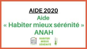 aide habiter mieux sérénité ANAH Actif Confort 68 rue de l'ambassadeur 95610 Eragny sur Oise 01 30 37 01 08