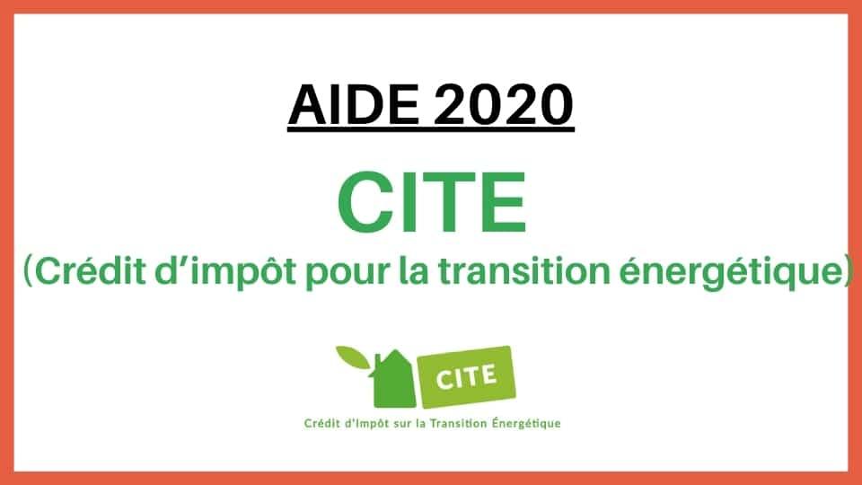 aide crédit d'impot sur la transition énergétique CITE Actif Confort 68 rue de l'ambassadeur 95610 Eragny sur Oise 01 30 37 01 08